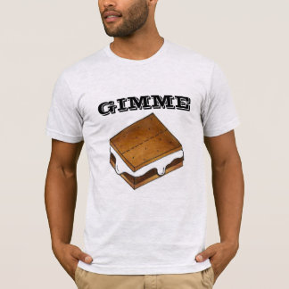 Gimme Smore Chocolate Marshmallow Camp S'mores Tee