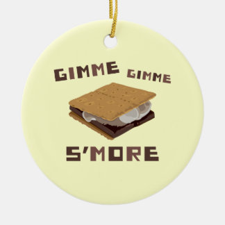 Gimme S'more Christmas Ornament