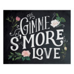 Gimme smore love wedding party sign BBQ