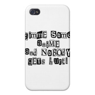 Gimme Some Anime iPhone 4 Case