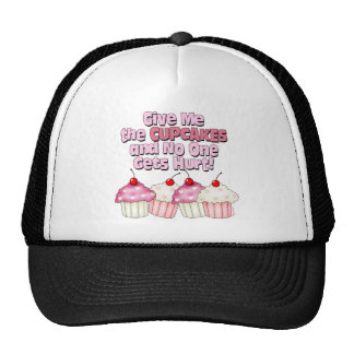 Gimme the Cupcakes Hats