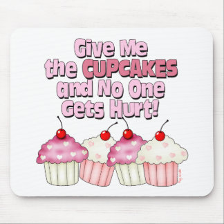 Gimme the Cupcakes Mouse Pad