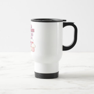 Gimme the Cupcakes Stainless Steel Travel Mug