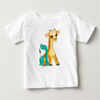 Gimmel Hebrew Aleph Bet (Alphabet) Giraffe T-Shirt
