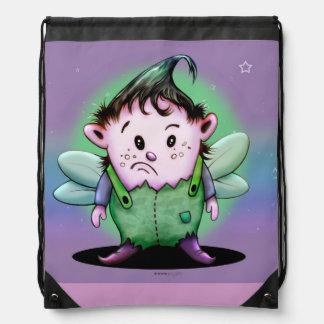 GIMY ALIEN CARTOON Drawstring Backpack