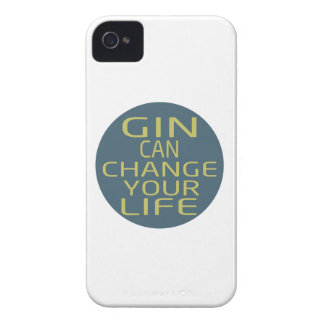 Gin Can Change Your Life Case-Mate iPhone 4 Case