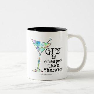 GIN is cheaper than therapy ` Coffee Mug