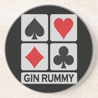 Gin Rummy coaster