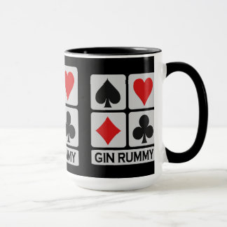 Gin Rummy Player mug - choose style & color