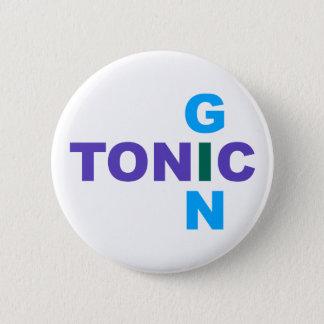 Gin Tonic Longdrink cocktail 6 Cm Round Badge