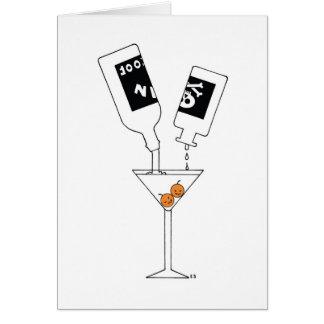 Gin & Toxin Greeting Card