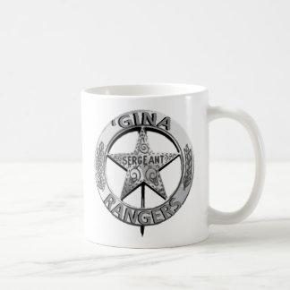'Gina Rangers Basic White Mug