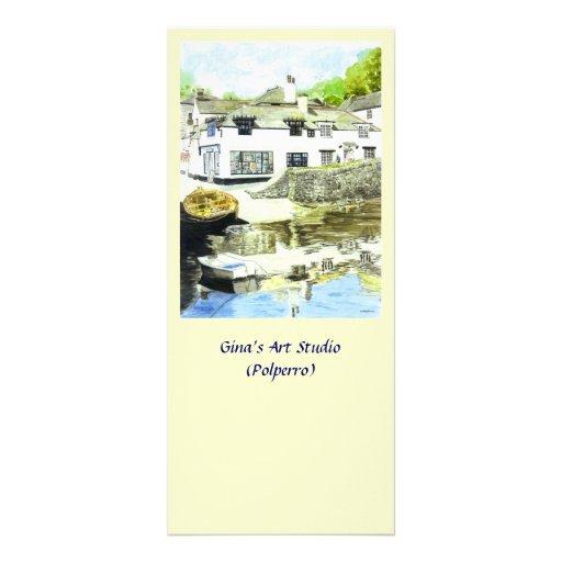 'Gina's' Rack Card