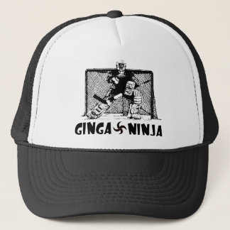 Ginga Ninja - Hockey Goalie Trucker Hat