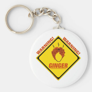 Ginger Alert! Key Ring