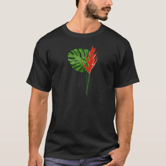 Ginger and Monstera Bouquet T-Shirt
