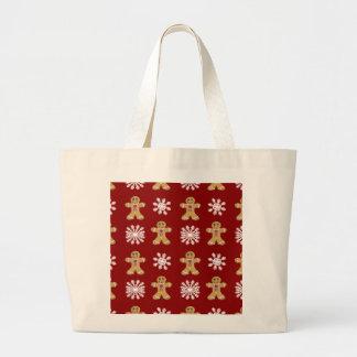 Ginger and Snow Jumbo Tote Bag