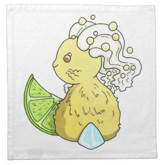 Ginger Beer Bunny Napkin