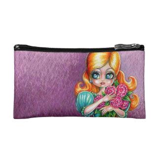 Ginger Bouquet Makeup Bag