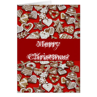 Ginger Bread Cookies Greeting Card