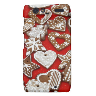 Ginger Bread Cookies Droid RAZR Covers