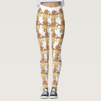 ginger bread legs leggings
