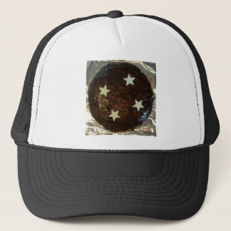 Ginger cake trucker hat