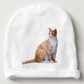 Ginger Cat Baby Beanie