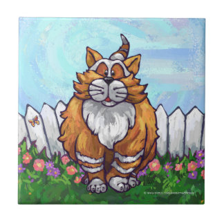 Ginger Cat Gifts Accessories Ceramic Tile