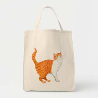'Ginger Cat' Grocery Tote