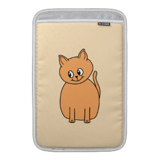 Ginger Cat. Sleeves For MacBook Air