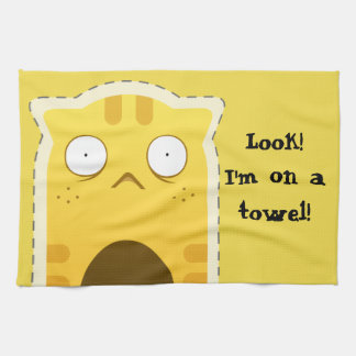 Ginger Cat kitchen towel