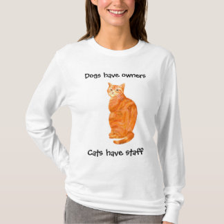 Ginger Cat Ladies Long-sleeved T-shirt