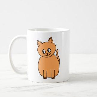 Ginger Cat. Basic White Mug