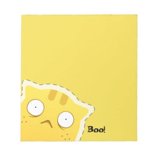 Ginger Cat notepad