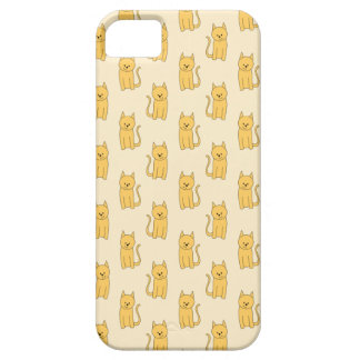Ginger Cat Pattern. Case For The iPhone 5