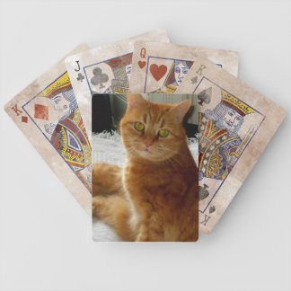 Ginger Cat Playing Cards