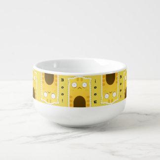 Ginger Cat soup mug