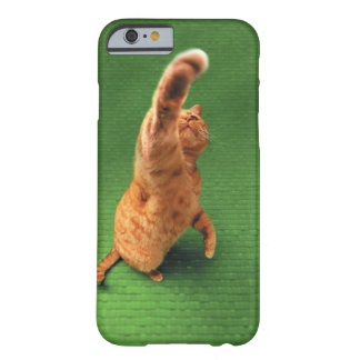 Ginger cat stretching out paw barely there iPhone 6 case
