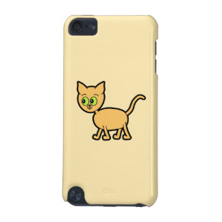 Ginger Cat with Green Eyes. iPod Touch (5th Generation) Case