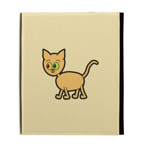 Ginger Cat with Odd Eyes. iPad Folio Covers