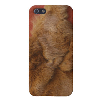 Ginger Che Leather and Fur iPhone 4 Case
