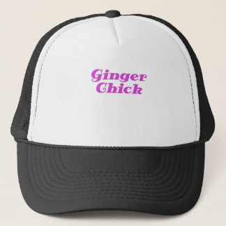 Ginger Chick Trucker Hat
