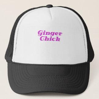 Ginger Chick Trucker Hat