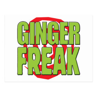 Ginger Freak G Postcard