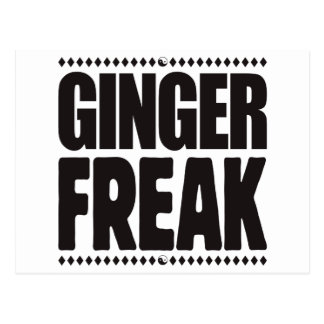 Ginger Freak Postcard