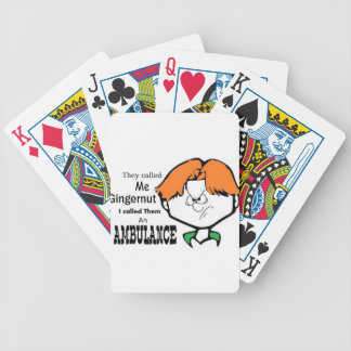 Ginger Gerald Bicycle Playing Cards