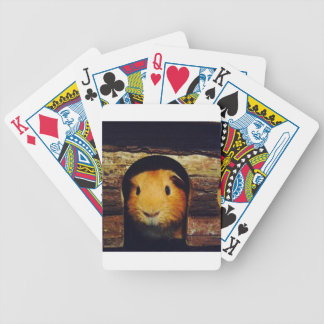 Ginger Guinea Pig Gifts Bicycle Playing Cards
