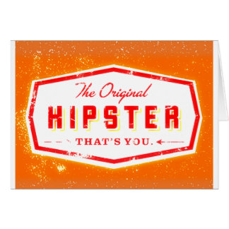 GINGER HIPSTER STYLE CARD