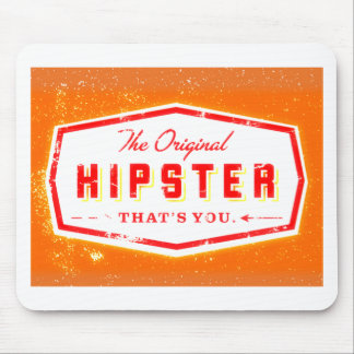 GINGER HIPSTER STYLE MOUSE PAD